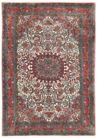 Bidjar Takab/Bukan Sag 113X153 Autentični Orijentalni Ručno Uzlan Tamnosiva/Tamnocrvena (Vuna, Perzija/Iran)