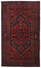 Hamadan Sag 134X226 Autentični  Orijentalni Ručno Uzlan Tamnocrvena (Vuna, Perzija/Iran)
