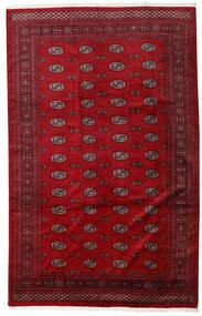Pakistan Bokhara 3Ply Sag 201X316 Autentični  Orijentalni Ručno Uzlan Grimizno Crvena/Tamnocrvena (Vuna, Pakistan)
