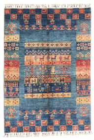 Moderni Afghan Sag 87X124 Autentični  Moderni Ručno Uzlan Tamnoplava/Plava (Vuna, Afganistan)