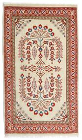 Sarough Sag 80X140 Autentični  Orijentalni Ručno Uzlan Svjetlozelena/Tamnocrvena (Vuna, Perzija/Iran)