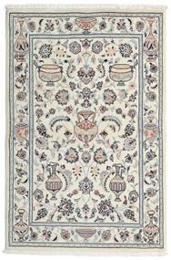 Kashmar Sag 101X154 Autentični Orijentalni Ručno Uzlan Svjetlosiva/Bijela/Krem (Vuna, Perzija/Iran)