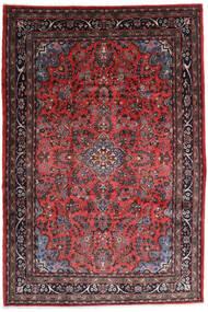 Hamadan Shahrbaf Sag 217X315 Autentični  Orijentalni Ručno Uzlan Tamnocrvena/Tamnosmeđa (Vuna, Perzija/Iran)