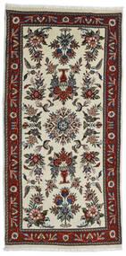 Beluch Sag 80X161 Autentični Orijentalni Ručno Uzlan Tamnosmeđa/Tamna Bež (Vuna, Perzija/Iran)