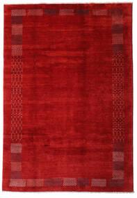 Loribaft Persia Sag 202X294 Autentični  Moderni Ručno Uzlan Hrđavo Crvena/Tamnocrvena (Vuna, Perzija/Iran)