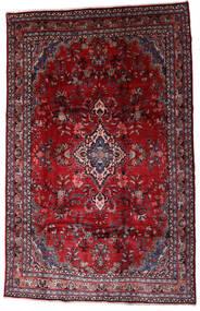 Hamadan Shahrbaf Sag 208X310 Autentični  Orijentalni Ručno Uzlan Tamnocrvena/Grimizno Crvena (Vuna, Perzija/Iran)