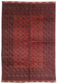 Afghan Sag 197X284 Autentični  Orijentalni Ručno Uzlan Tamnocrvena/Tamnosmeđa (Vuna, Afganistan)