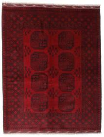 Afghan Sag 158X199 Autentični Orijentalni Ručno Uzlan Tamnocrvena/Tamnosmeđa (Vuna, Afganistan)