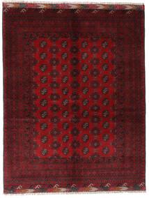Afghan Sag 154X195 Autentični Orijentalni Ručno Uzlan Tamnocrvena/Grimizno Crvena (Vuna, Afganistan)