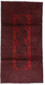 Afghan Sag 101X197 Autentični  Orijentalni Ručno Uzlan Tamnocrvena (Vuna, Afganistan)