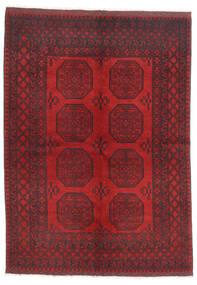 Afghan Sag 172X236 Autentični Orijentalni Ručno Uzlan Tamnocrvena/Tamnosmeđa/Grimizno Crvena (Vuna, Afganistan)