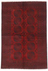 Afghan Sag 160X232 Autentični Orijentalni Ručno Uzlan Tamnocrvena/Tamnosmeđa (Vuna, Afganistan)