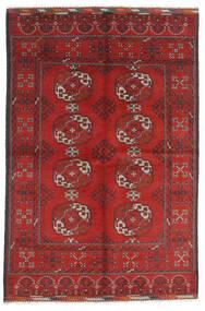 Afghan Sag 165X246 Autentični Orijentalni Ručno Uzlan Tamnocrvena/Hrđavo Crvena (Vuna, Afganistan)