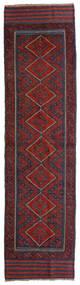 Ćilim Golbarjasta Sag 60X234 Autentični Orijentalni Ručno Tkani Staza Za Hodnik Tamnocrvena/Crna (Vuna, Afganistan)