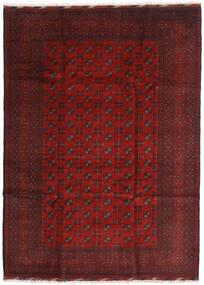 Afghan Sag 205X284 Autentični Orijentalni Ručno Uzlan Tamnocrvena/Tamnosmeđa (Vuna, Afganistan)