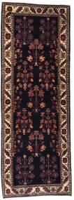 Gabbeh Kashkooli Sag 82X223 Autentični Moderni Ručno Uzlan Staza Za Hodnik Tamnosmeđa/Tamnocrvena (Vuna, Perzija/Iran)