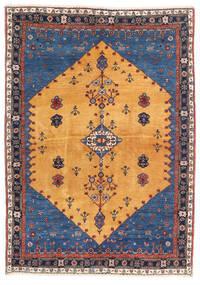 Gabbeh Kashkooli Sag 124X174 Autentični Moderni Ručno Uzlan Svjetlosmeđa/Tamnoplava (Vuna, Perzija/Iran)