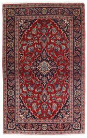 Keshan Sag 98X158 Autentični Orijentalni Ručno Uzlan Tamnocrvena/Tamnoplava (Vuna, Perzija/Iran)