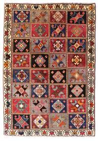 Qashqai Sag 136X197 Autentični  Orijentalni Ručno Uzlan Tamnocrvena/Tamnosmeđa (Vuna, Perzija/Iran)