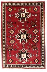 Qashqai Sag 127X197 Autentični  Orijentalni Ručno Uzlan Tamnocrvena (Vuna, Perzija/Iran)