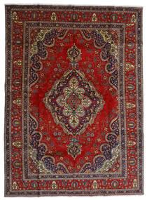Tabriz Sag 300X408 Autentični  Orijentalni Ručno Uzlan Tamnocrvena/Tamnosiva Veliki (Vuna, Perzija/Iran)