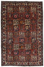 Bakhtiari Sag 204X312 Autentični  Orijentalni Ručno Uzlan Tamnocrvena/Crna (Vuna, Perzija/Iran)