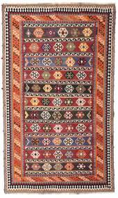Ćilim Vintage Sag 162X270 Autentični Orijentalni Ručno Tkani Tamnocrvena/Tamnosmeđa (Vuna, Perzija/Iran)