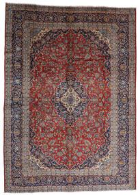 Keshan Sag 287X403 Autentični Orijentalni Ručno Uzlan Tamnocrvena/Tamnosmeđa Veliki (Vuna, Perzija/Iran)