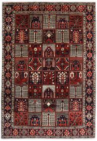 Bakhtiari Sag 225X327 Autentični  Orijentalni Ručno Uzlan Tamnocrvena/Tamnosmeđa (Vuna, Perzija/Iran)