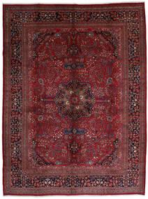 Mashad Sag 306X408 Autentični  Orijentalni Ručno Uzlan Tamnocrvena/Tamnosmeđa Veliki (Vuna, Perzija/Iran)