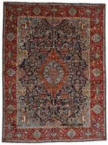 Kashmar Sag 301X396 Autentični  Orijentalni Ručno Uzlan Tamnosiva/Tamnosmeđa Veliki (Vuna, Perzija/Iran)
