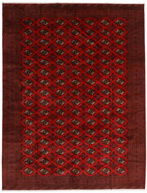 Turkaman Sag 296X383 Autentični Orijentalni Ručno Uzlan Tamnocrvena/Tamnosmeđa Veliki (Vuna, Perzija/Iran)