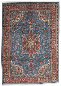 Tabriz Sag 204X290 Autentični  Orijentalni Ručno Uzlan Tamnosiva/Svjetlosiva (Vuna, Perzija/Iran)