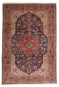 Tabriz Sag 200X297 Autentični  Orijentalni Ručno Uzlan Tamnocrvena/Tamnosmeđa (Vuna, Perzija/Iran)