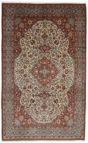 Ghom Kork/Svila Sag 254X375 Autentični  Orijentalni Ručno Uzlan Tamnosmeđa/Svjetlosmeđa Veliki (Vuna/Svila, Perzija/Iran)
