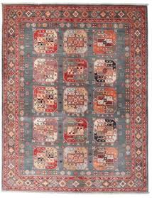 Kazak Sag 150X194 Autentični  Orijentalni Ručno Uzlan Smeđa/Tamnocrvena (Vuna, Afganistan)