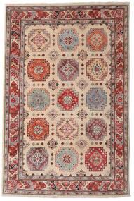 Kazak Sag 118X179 Autentični  Orijentalni Ručno Uzlan Tamnosmeđa/Svjetlosiva (Vuna, Afganistan)