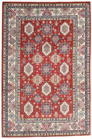 Kazak Sag 198X298 Autentični  Orijentalni Ručno Uzlan Tamnosiva/Svjetlosiva (Vuna, Afganistan)