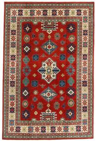 Kazak Sag 198X302 Autentični  Orijentalni Ručno Uzlan Tamnocrvena/Hrđavo Crvena (Vuna, Afganistan)