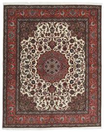 Tabriz 60 Raj Svileni Navoji Sag 201X248 Autentični  Orijentalni Ručno Uzlan Tamnosmeđa/Tamnocrvena (Vuna/Svila, Perzija/Iran)