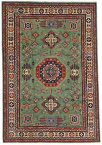 Kazak Sag 197X289 Autentični Orijentalni Ručno Uzlan Maslinasto Zelena/Crna (Vuna, Afganistan)
