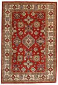 Kazak Sag 198X292 Autentični Orijentalni Ručno Uzlan Tamnocrvena/Maslinasto Zelena (Vuna, Afganistan)