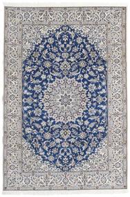 Nain 9La Sag 203X297 Autentični  Orijentalni Ručno Uzlan Svjetlosiva/Bež (Vuna/Svila, Perzija/Iran)
