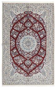 Nain 9La Sag 165X260 Autentični  Orijentalni Ručno Uzlan Svjetlosiva/Bijela/Krem (Vuna/Svila, Perzija/Iran)