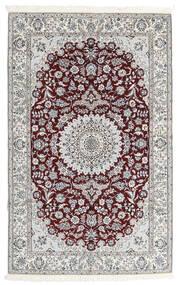Nain 9La Sag 160X251 Autentični  Orijentalni Ručno Uzlan Tamnosmeđa/Svjetlosiva (Vuna/Svila, Perzija/Iran)