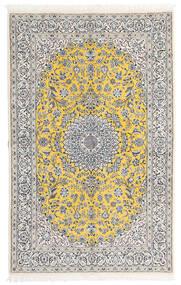 Nain 9La Sag 158X248 Autentični  Orijentalni Ručno Uzlan Svjetlosiva/Bijela/Krem (Vuna/Svila, Perzija/Iran)
