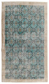 Vintage Heritage Sag 112X197 Autentični Moderni Ručno Uzlan Svjetlosiva/Tirkizno Plava (Vuna, Perzija/Iran)