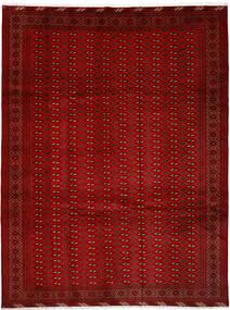 Turkaman Sag 252X337 Autentični Orijentalni Ručno Uzlan Grimizno Crvena/Hrđavo Crvena Veliki (Vuna, Perzija/Iran)