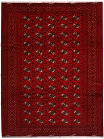 Turkaman Sag 258X344 Autentični Orijentalni Ručno Uzlan Grimizno Crvena/Tamnocrvena/Tamnosmeđa Veliki (Vuna, Perzija/Iran)
