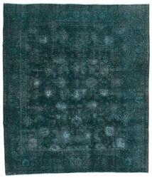 Vintage Heritage Sag 244X280 Autentični  Moderni Ručno Uzlan Tamna Tirkizna  /Plava (Vuna, Perzija/Iran)
